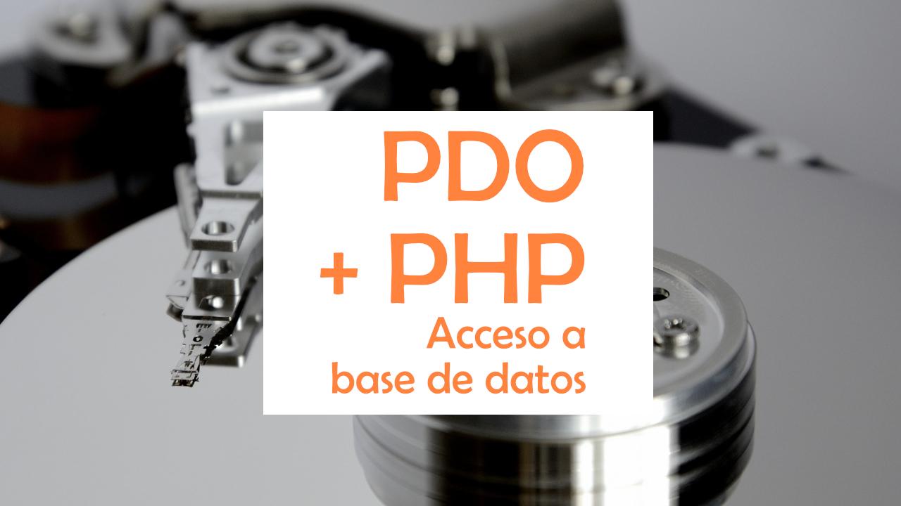 Conexión a MySQL con PHP