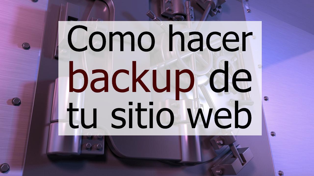 Como hacer copias de seguridad de tu sitio web en un VPS Linux