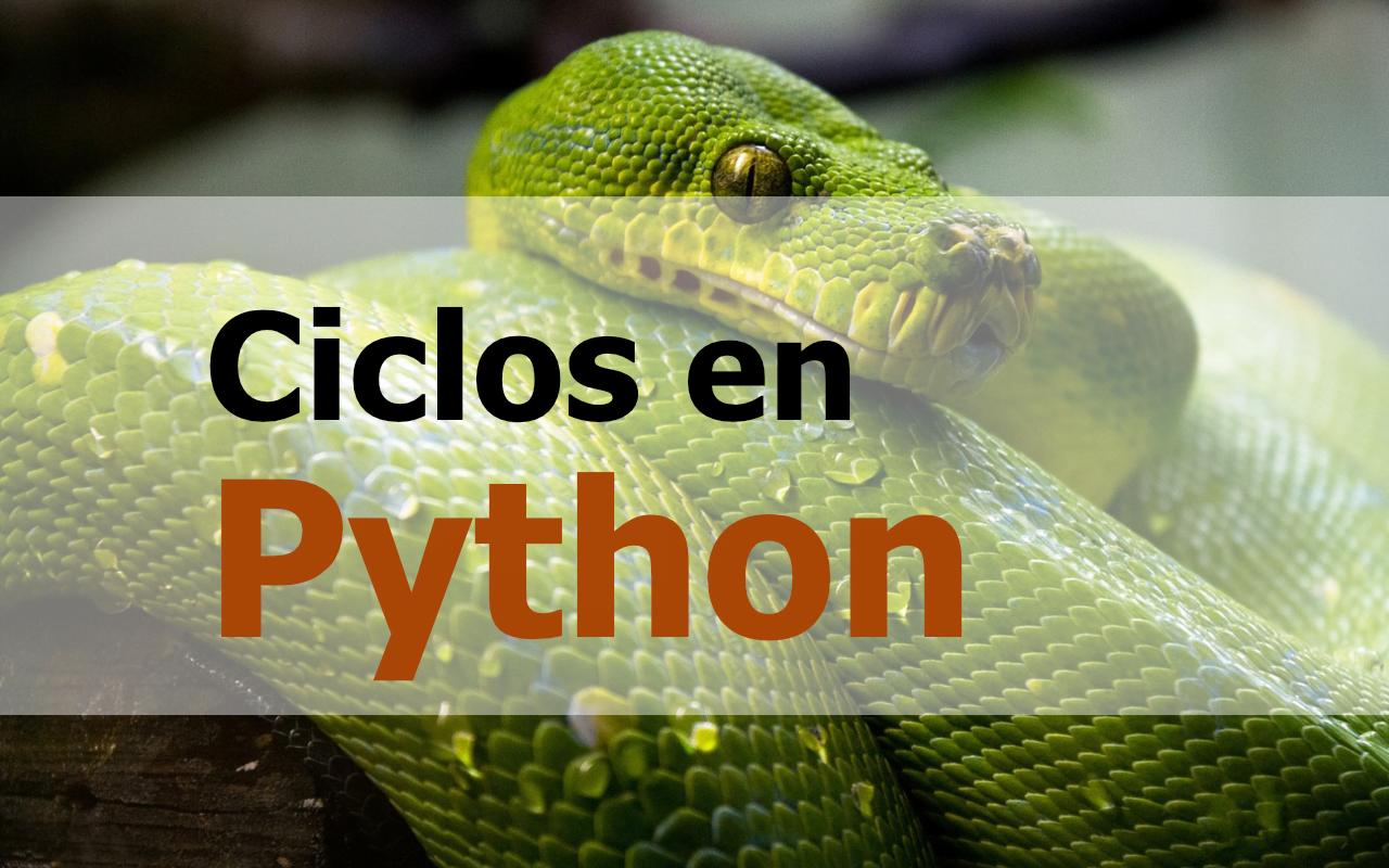 Cómo usar ciclos en Python
