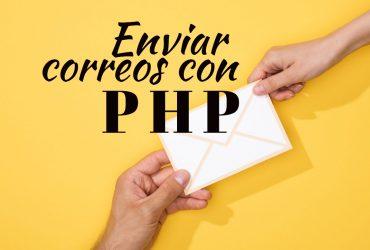 Como enviar correo con PHP usando SMTP